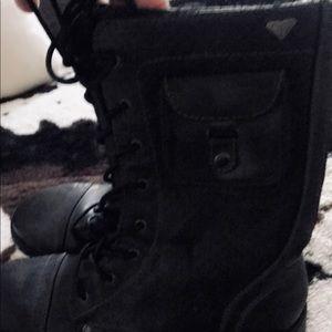 Roxy combat boots 🥾